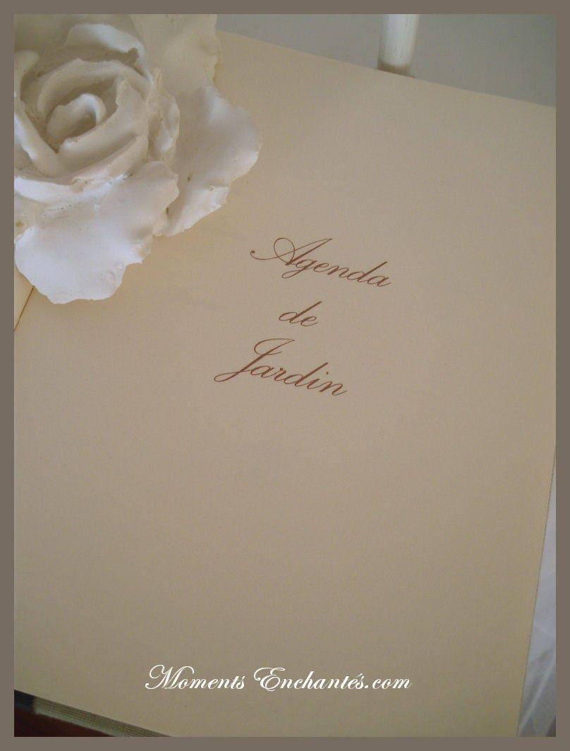 carnet du jardinier organiseur du potager du jardinier un joli cadeau de la saint valentin. Black Bedroom Furniture Sets. Home Design Ideas