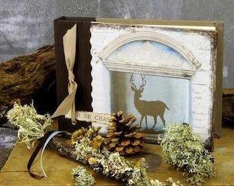 Deer hunting nature notebook
