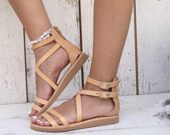 3c30d72178de0 Criss cross sandals | Etsy