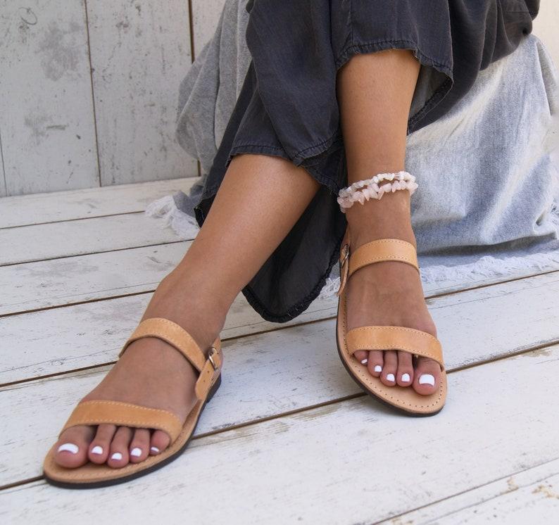 a2109b22bcc75 DARIA sandals/ ancient Greek leather sandals/ strappy sandals/ roman  sandals/ slides sandals/ classic leather sandals/ handmade sandals