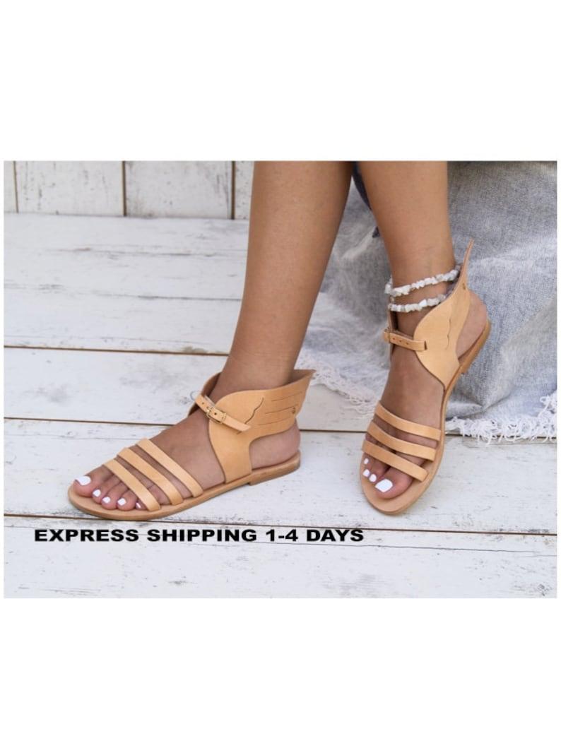 feac29fa1ecd Hermes sandals  Ancient Greek sandals-Mythology inspired