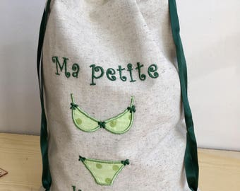 lingerie, underwear bag pouch
