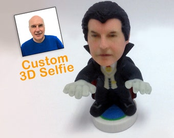 dracula male personalized bobblehead custom made 3d printed figurine from your picture halloween collection