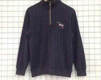 Vintage Michiko London Sports Sweatshirts Half Zipper Medium Size Nice Design
