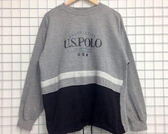U.S Polo Association Sweatshirts Medium Size Nice Design