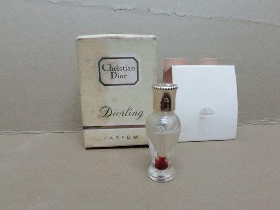 ancienne miniature de parfum Diorling Christian Di