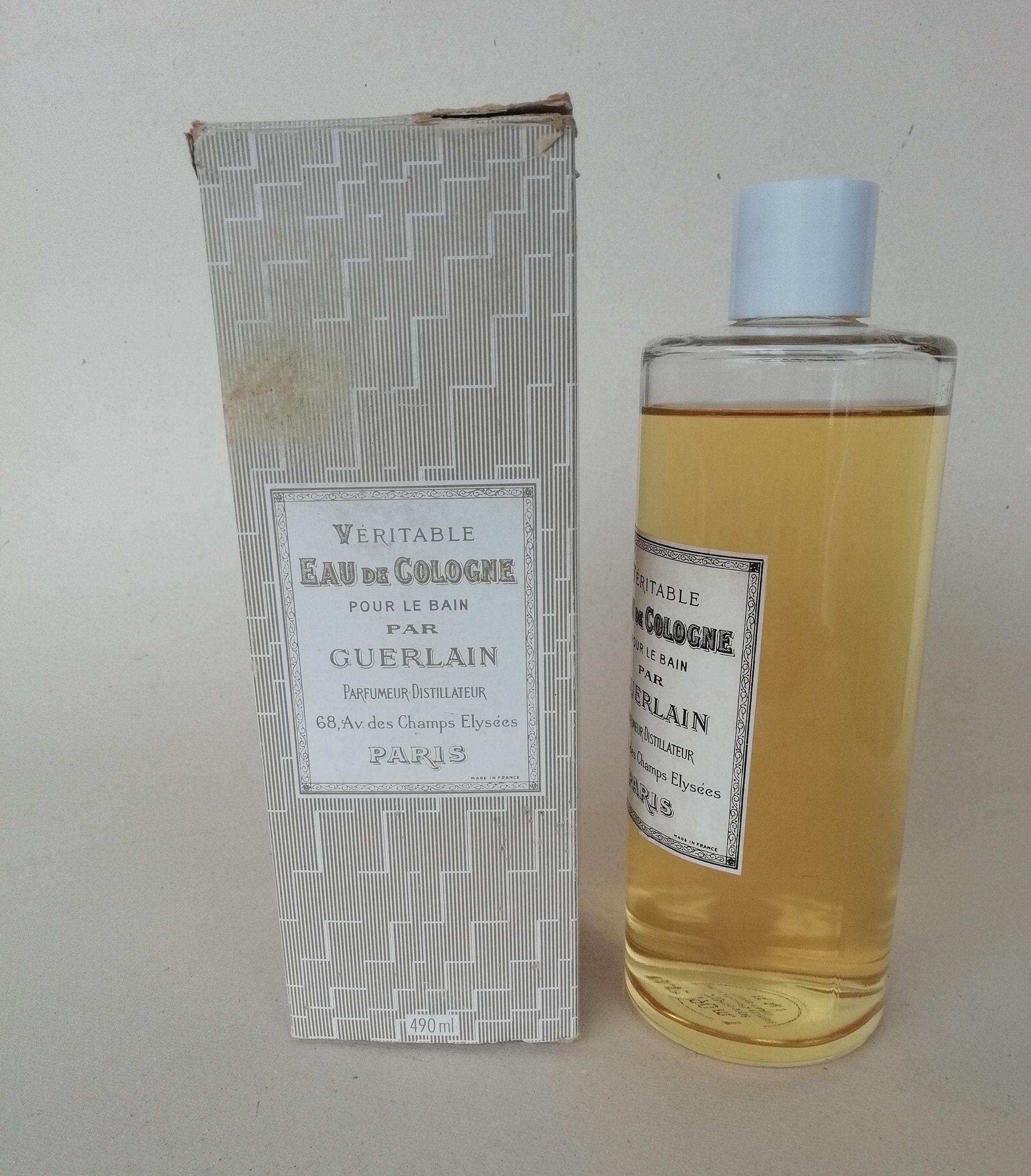 Rare De Véritable Pour Ancien Le Eau Cologne Flacon Bain Par E2DHW9I