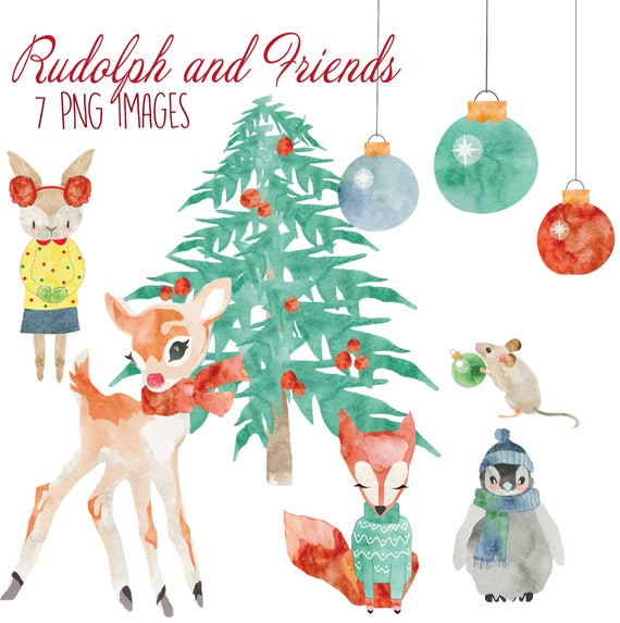 image 0 - Rudolph And Friends Christmas Decorations