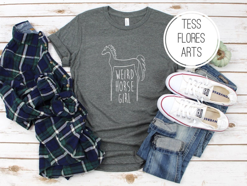 Just A Girl Who Love Horses Horse Lover Gift Toddler//Kids Girls/' Fitted T-Shirt