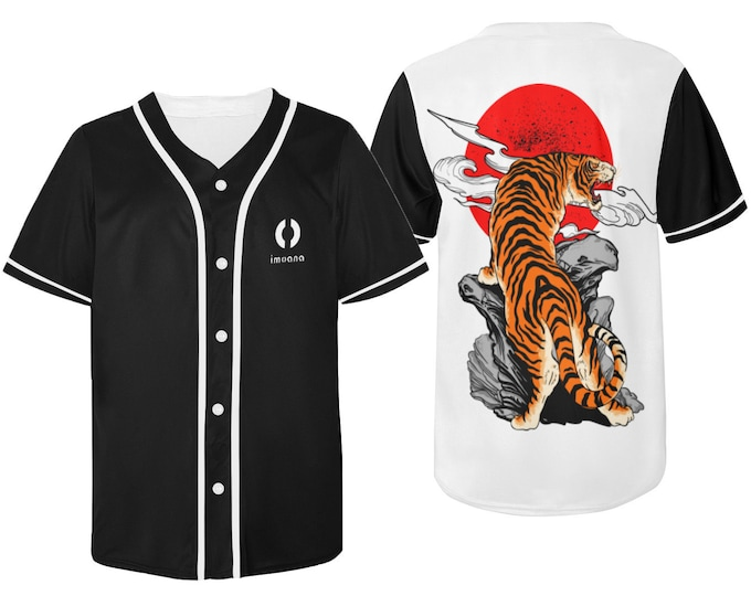 Unisex t-shirt with tiger print IMOANA