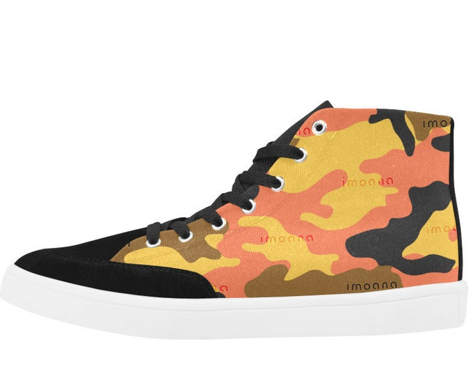 IMOANA camouflage casual sneaker shoes.