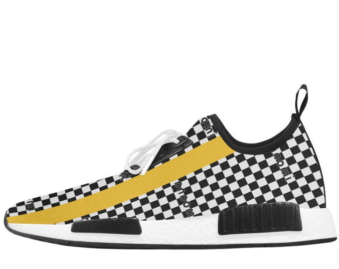 Chess sneakers with IMOANA bicolour sole.