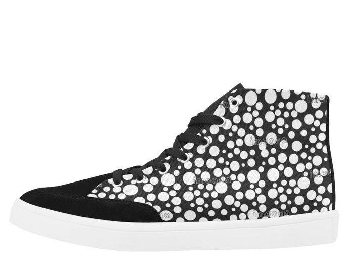 IMOANA polka dots casual sneaker shoes.