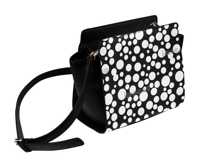 IMOANA polka dots shoulder bag.