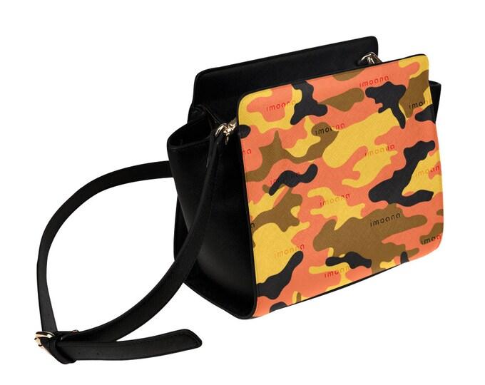 IMOANA camouflage shoulder bag.