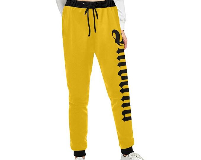 Streetwear trousers yellow suit IMOANA.