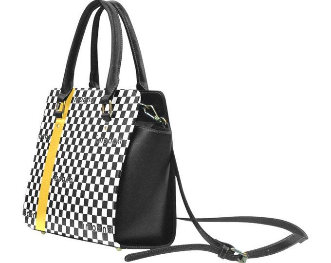Stipes shoulder bag with handles IMOANA.