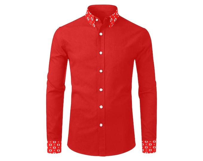 IMOANA red men's shirt.