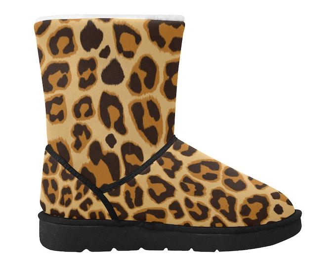 Snow leopard boots