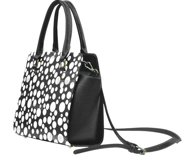Polka dots shoulder bag with handles IMOANA.