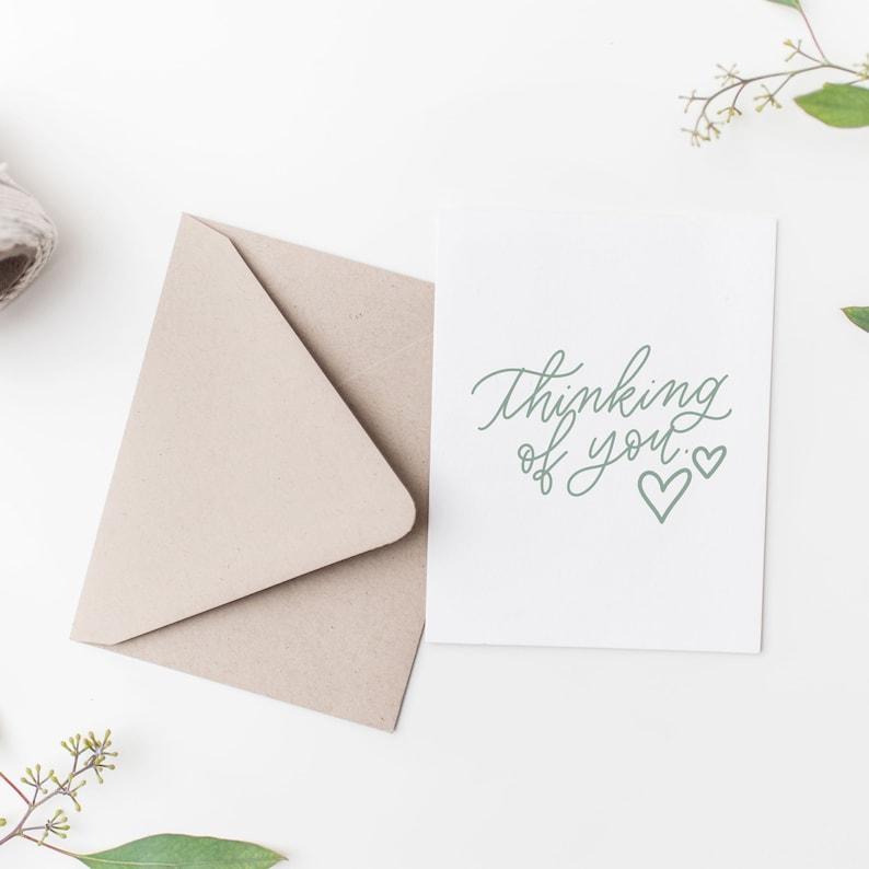 thinking of you  sympathy card