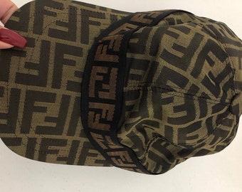 Sale • FENDI hat by Fendi baseball daddy hat monogram prints zucca double  FF size M b18cbd93ad9