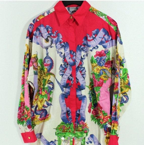 ef73df16f61f3 Sale VERSUS VERSACE shirt by Gianni Versace shirt baroque