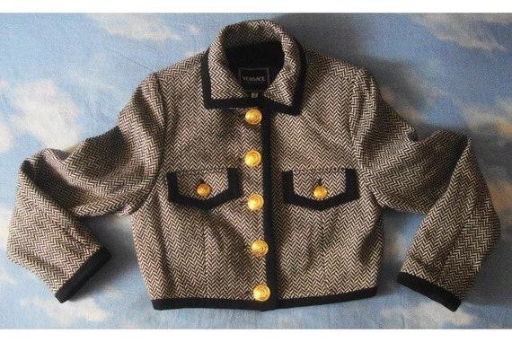 5e2e5b2aaf9c Sale VERSACE JEANS Couture jacket by Gianni versace blazer
