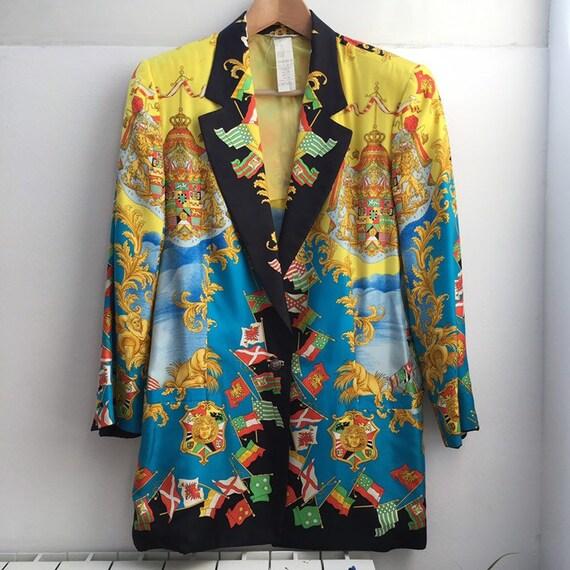 ... Vente • GIANNI VERSACE veste par par veste Gianni Versace couture veste  extrêmement rare Gianni Versace 8511b66cf86