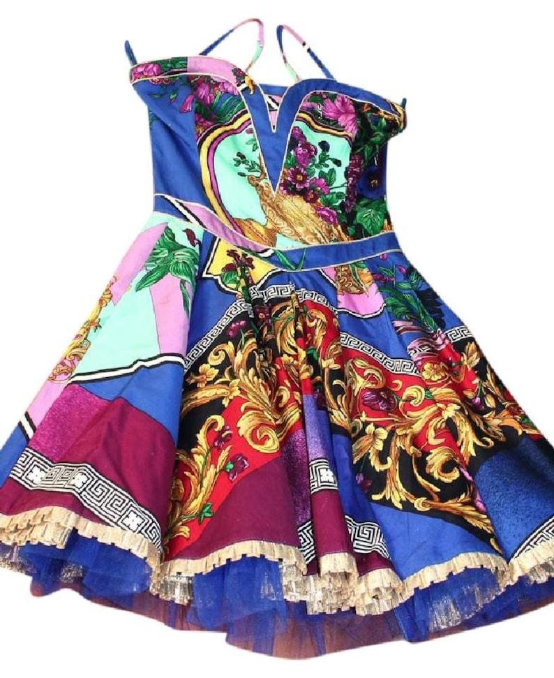f8ea9bc89e Sale VERSACE Dress by Gianni Versace dress Couture Baroque