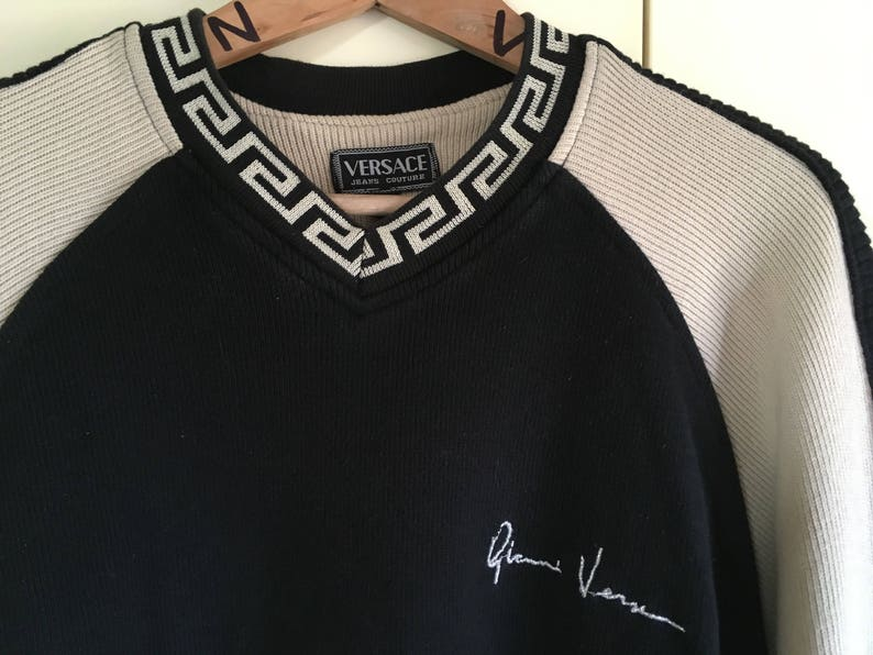 684e4c7528d9 SALE Versace sweater Jeans Couture by Gianni Versace Very