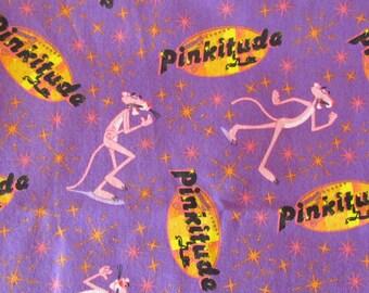 8eae438d64d Fabric Pink Panther. Pinkitude Cartoon Comic. Inspector Jacques Clouseau.  Return Revenge Curse Retro 1960 MGM TV Show. Fabric