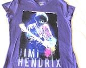 Jimi Hendrix shirt. Fender Stratocaster 1970 James Marshall Concert tour poster art. Vintage Women t-shirt. Brand new with original tag MINT