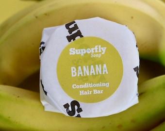 Banana Solid Conditioner Bar UK / Plastic Free / Zero Waste / Superfly Soap
