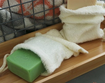 Bamboo Soap Pouch / Superfly Soap / Bamboo Soap Bag