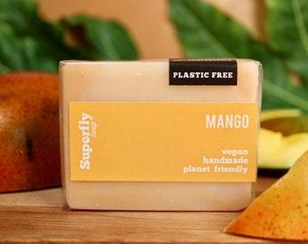 Mango Hand & Body Soap / Cold Process Soap / Natural Vegan Soap Artisan / Superfly Soap