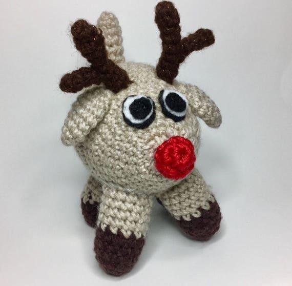 Crochet Reindeer Pattern Crochet Toy Crochet Decoration Etsy