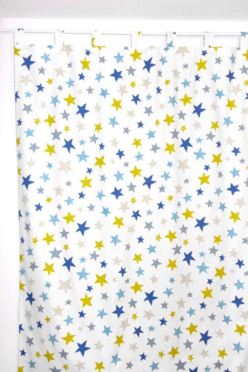 Curtain with stars wish length 140 cm-310 cm