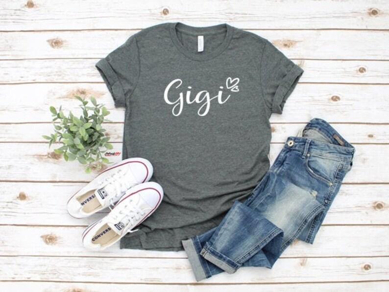 Christmas Gift GiGi Pregnancy Announcement Grandparents Grandma Shirt Grandma Gift GiGi Established Shirt Nana Shirt GiGi Shirt