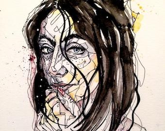 Custom Watercolour Portrait