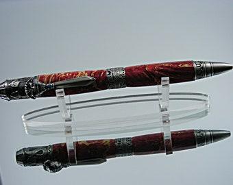 Box elder burl Gatsby style twist pen