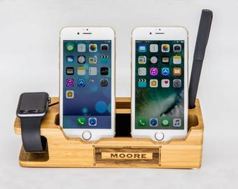 Iphone dock,iphone stand,wood iphone dock,charging station,iphone docking,iphone dock station,ipad dock,iphone holder,docking station,iphone