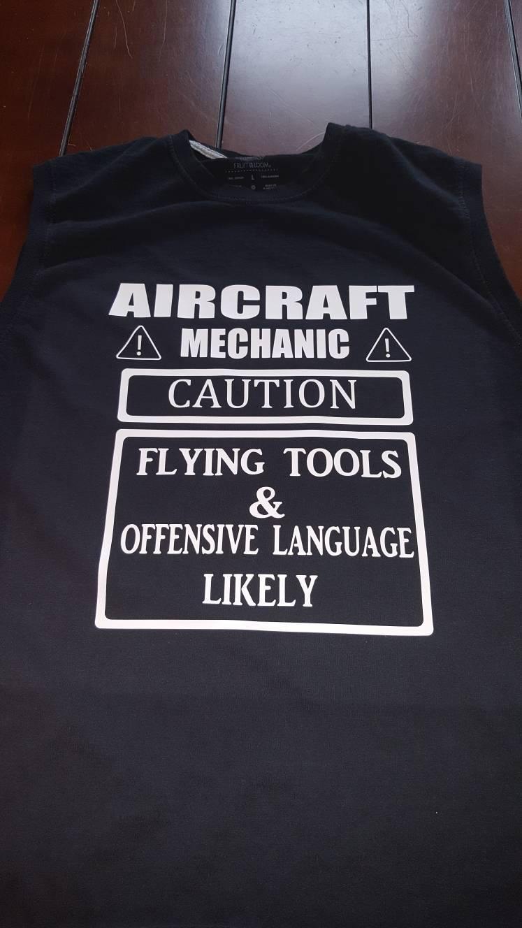 Aircraft Mechanic Shirt Etsy