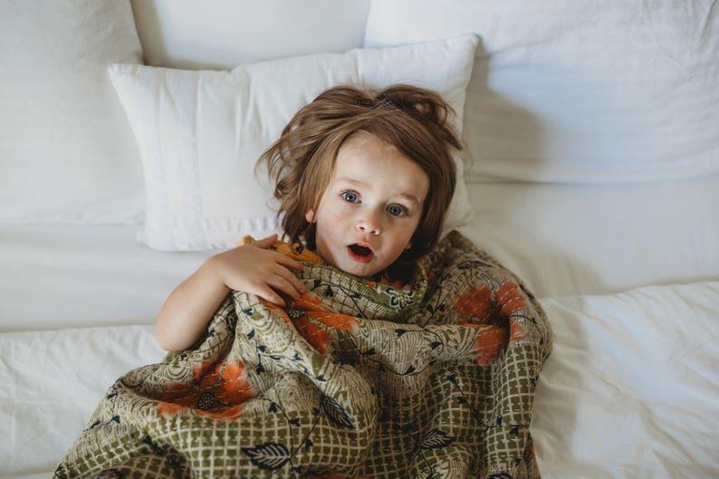 Kantha Baby Blanket image 0