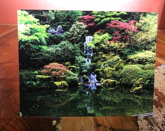Portland's Japanese Garden Note Card