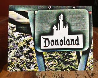 Donoland Note Card