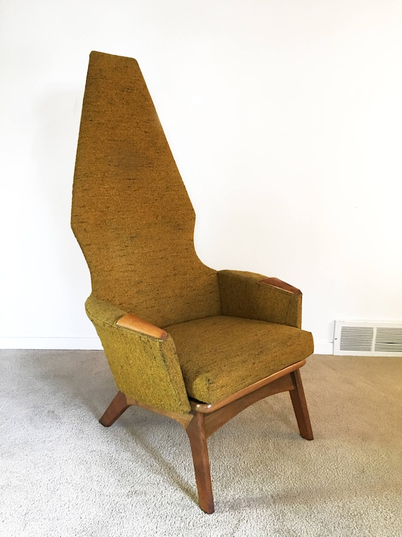 Excellent Mid Century Adrian Pearsall High Back Lounge Chair Camellatalisay Diy Chair Ideas Camellatalisaycom