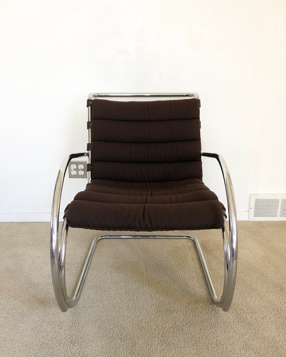 Astonishing Ludwig Mies Van Der Rohe Mr Lounge Chair Knoll Mid Century Squirreltailoven Fun Painted Chair Ideas Images Squirreltailovenorg