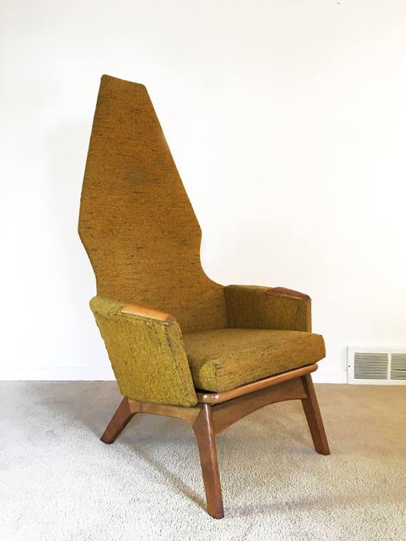 Super Mid Century Adrian Pearsall High Back Lounge Chair Camellatalisay Diy Chair Ideas Camellatalisaycom