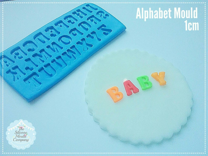 LOVE Alphabet Letters Word Silicone Mould Molds for Cake Resin Chocolate